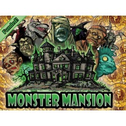 MONSTER MANSION 2015 kickstarter edition + stretch goals + Bag-o-Monster add-on