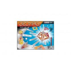 GEOMAG PANELS 44 PZ gioco magnetico modulare costruzioni 3+ creazioni illimitate