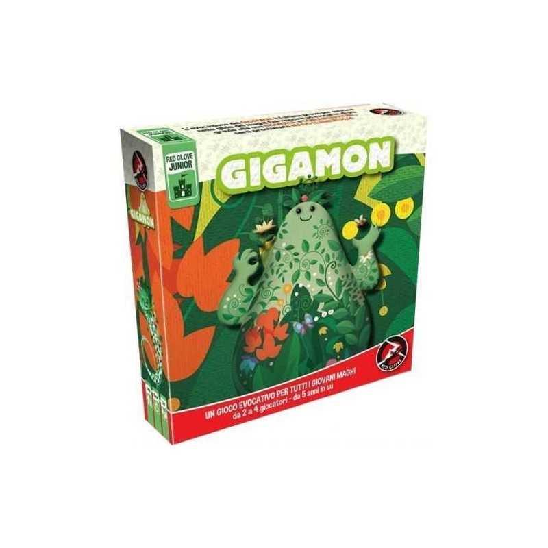 Gigamon Gioco Evocativo Di Memoria In Italiano Red Glove