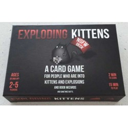 EXPLODING KITTENS NSFW EDITION english card game FOR ADULTS ONLY kickstarter