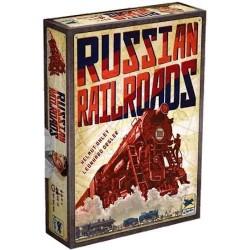 RUSSIAN RAILROADS edizione italiana ASTERION età 12+ TRENI RUSSIA 2-4 giocatori 2015 rail road