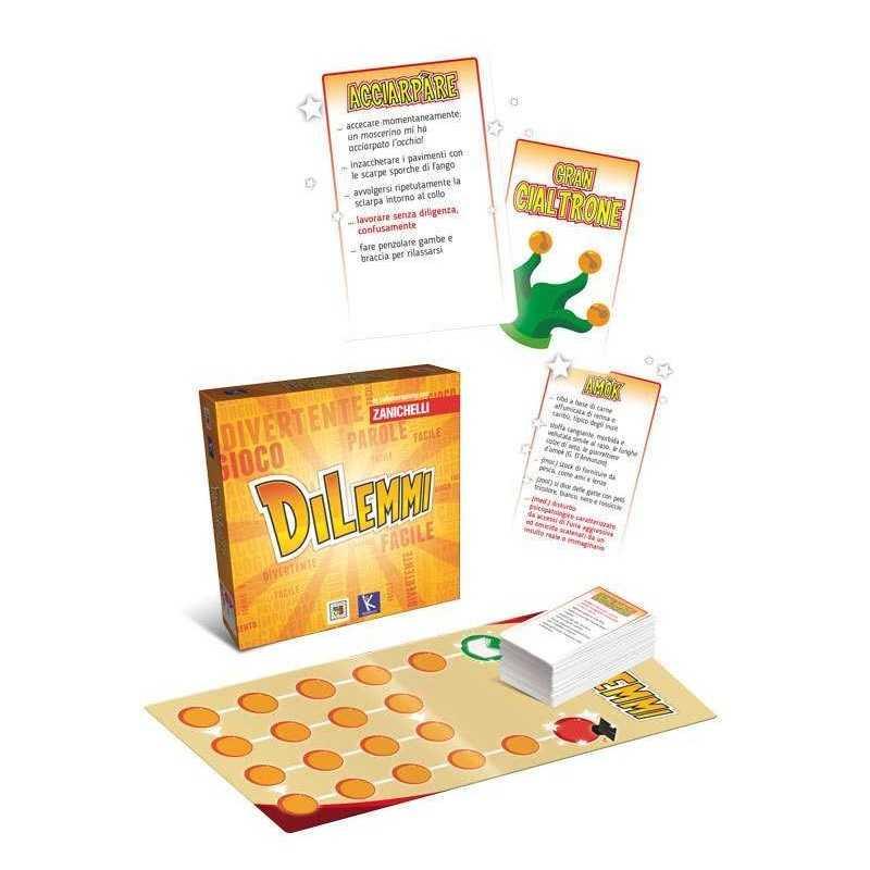 Dilemmi oliphante facile gioco lingua italiana et 12 quiz gioco da tavolo - Blokus gioco da tavolo ...