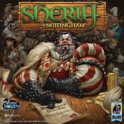SCERIFFO di NOTTINGHAM gioco da tavolo di bluff SHERIFF of NOTTINGHAM 14+ Asterion Press