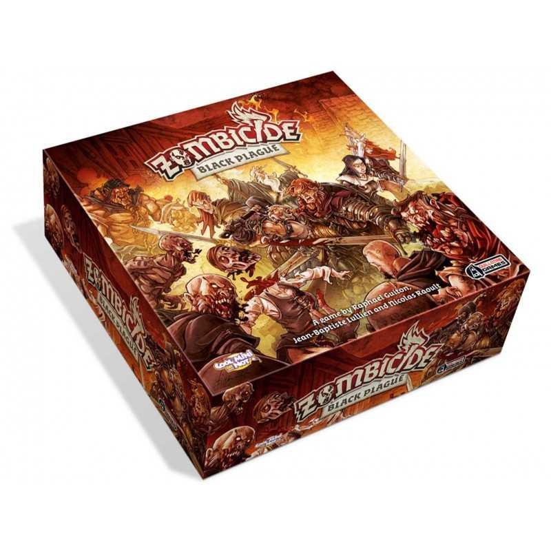 Zombicide black plague gioco da tavolo di miniature - Zombie side gioco da tavolo ...