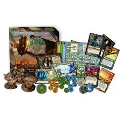 INCREDIBLE EXPEDITIONS Quest for Atlantis Steampunk Board game gioco da tavolo avventura