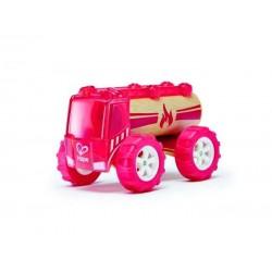 CAMION DEI POMPIERI auto in legno BAMBOO macchinine HAPE macchina GIOCO età 3+