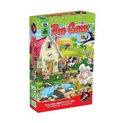 AIA GAIA gioco da tavolo di carte FATTORIA per bambini dai 6 anni in su RED GLOVE