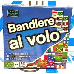 BANDIERE AL VOLO gioco di CARTE imparare EDUCATIVO istruzioni in italiano SELEGIOCHI età 6+