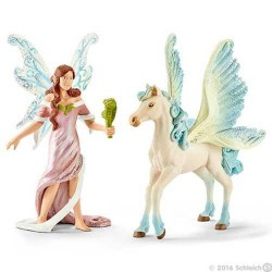 SAFENJA creature BAYALA animali in resina SCHLEICH miniature 70539 Fantasy