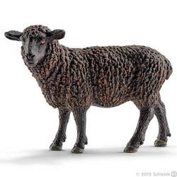 PECORA NERA Schleich BLACK SHEEP Farm Life 13785 miniatura in resina animali 3+