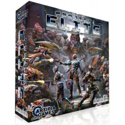 gioco base PROJECT: ELITE + espansione ALIEN PACK miniature COOPERATIVO Artipia Games KICKSTARTER