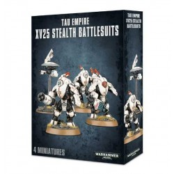 XV25 STEALTH BATTLESUIT Warhammer 40000 TAU EMPIRE 4 miniature Citadel GAMES WORKSHOP 40k età 12+