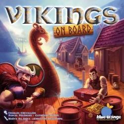VIKINGS ON BOARD gioco vichinghi STRATEGIA Oliphante CON NAVI E MINIATURE età 8+