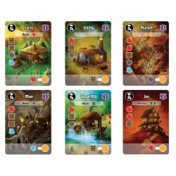 Villages Of Valeria DELUXE EDITION gioco di carte KICKSTARTER Daily Magic Games CARDS età 14+