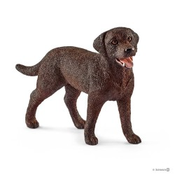 LABRADOR RETRIEVER animali in resina SCHLEICH miniature 13834 Farm Life DOG cane