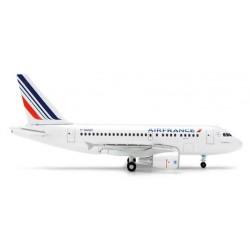 AIR FRANCE AIRBUS A318 HERPA WINGS 1:500