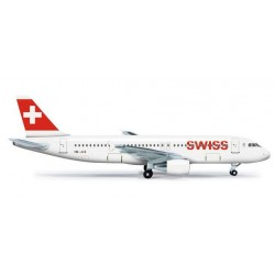 SWISS AIRLINES AIRBUS A320 - 524162 HERPA WINGS 1:500