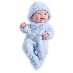MINI BAMBOLA BEBE' bebè TUTINA BLU 20 cm BERENGUER Boutique DOLL bebe PUPAZZO bambolotto AZZURRO 2+
