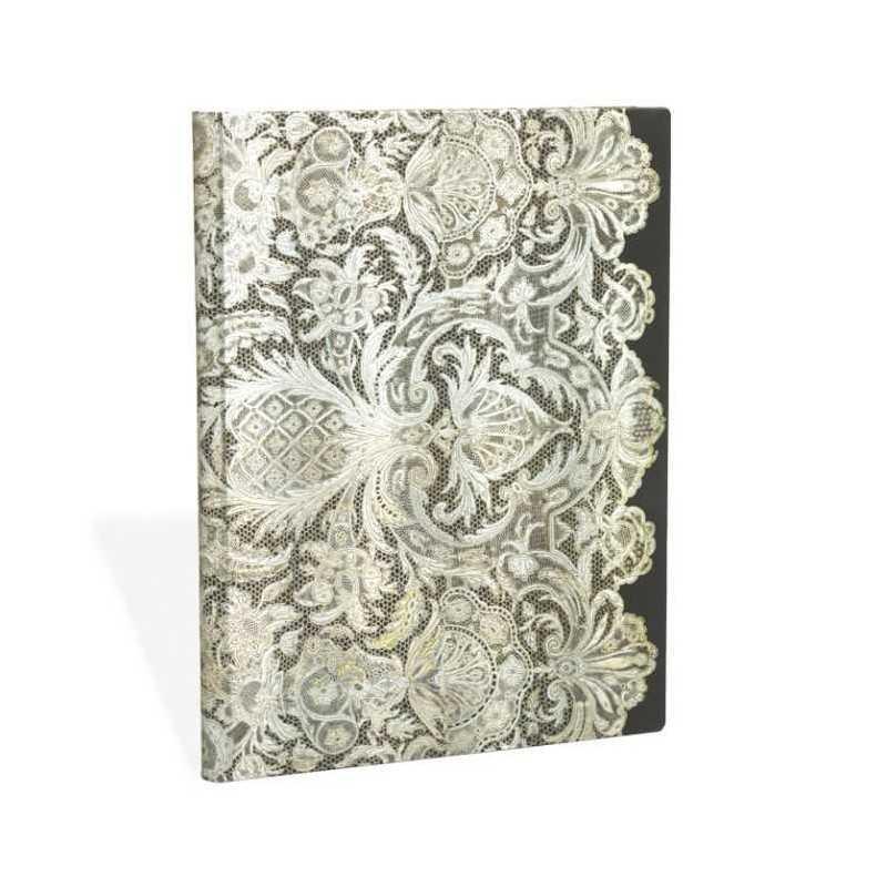 Diario rubrica Velo Avorio ultra Paperblanks cm 18x23 taccuino