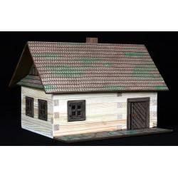 Hölzerne Bauer Haus