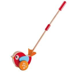 SPINGI E CAMMINA LILY Lilly HAPE E0353 giocattolo in legno da spingere età 12 mesi