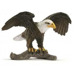 AQUILA DI MARE DALLA TESTA BIANCA miniature in resina 2017 animali SCHLEICH wild life 14780 EAGLE età 3+