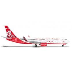 AIR BERLIN CHRISTMAS BOEING 737-800 HERPA WINGS 555364 scala 1:200 model