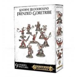 KHORNE BLOODBOUND FRENZIED WARTRIBE Warhammer Age of Sigmar Skirmish Team 9 miniature
