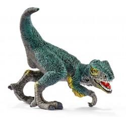 MINI VELOCIRAPTOR dinosauro in resina SCHLEICH 14598 JURASSIC WORLD