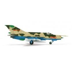 PLAAF CHENGDU J-7C 15TH DIV. BEIJING HERPA WINGS 552844 scala 1:200 model