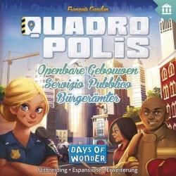 Espansione SERVIZIO PUBBLICO per Quadropolis DAYS OF WONDER nuovi edifici COSTRUZIONE età 8+