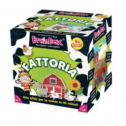 BRAIN BOX FATTORIA italiano gioco di carte memoria da 8 anni memory brainbox