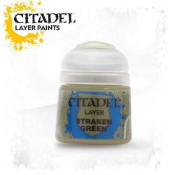 STRAKEN GREEN colore LAYER Citadel WARHAMMER Games Workshop VERDE 12 ml