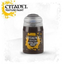 STIRLAND MUD colore TEXTURE Citadel WARHAMMER Games Workshop GRIGIO 24 ml