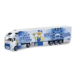 VOLVO FH GI XL REFRIGERATED TRAILER TRIO-TRANS WASCHPARK Herpa 304320 Auto Trucks Camion scala 1:87 model