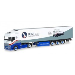 VOLVO FH GI REFRIGERATED LONI TRUCKS Herpa 304108 Auto Trucks Camion scala 1:87 model