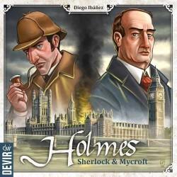 HOLMES Sherlock & Mycroft DEVIR gioco INVESTIGATORI enigma FRATELLI età 10+