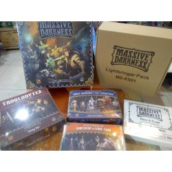 MASSIVE DARKNESS LIGHTBRINGER PLEDGE Kickstarter stretch goals included