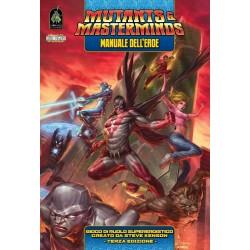 MUTANTS & MASTERMINDS manuale dell'eroe TERZA EDIZIONE gioco di ruolo SUPER EROI salva il mondo