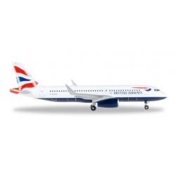 BRITISH AIRWAYS  HERPA WINGS 528313 scala 1:500 model
