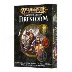 WARHAMMER FIRESTORM STAGIONE DI GUERRA italiano CAMPAGNA scatola e regolamento Games Workshop