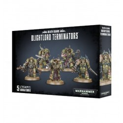 DEATH GUARD BLIGHTLORD TERMINATORS WARHAMMER 40K Miniature Elite