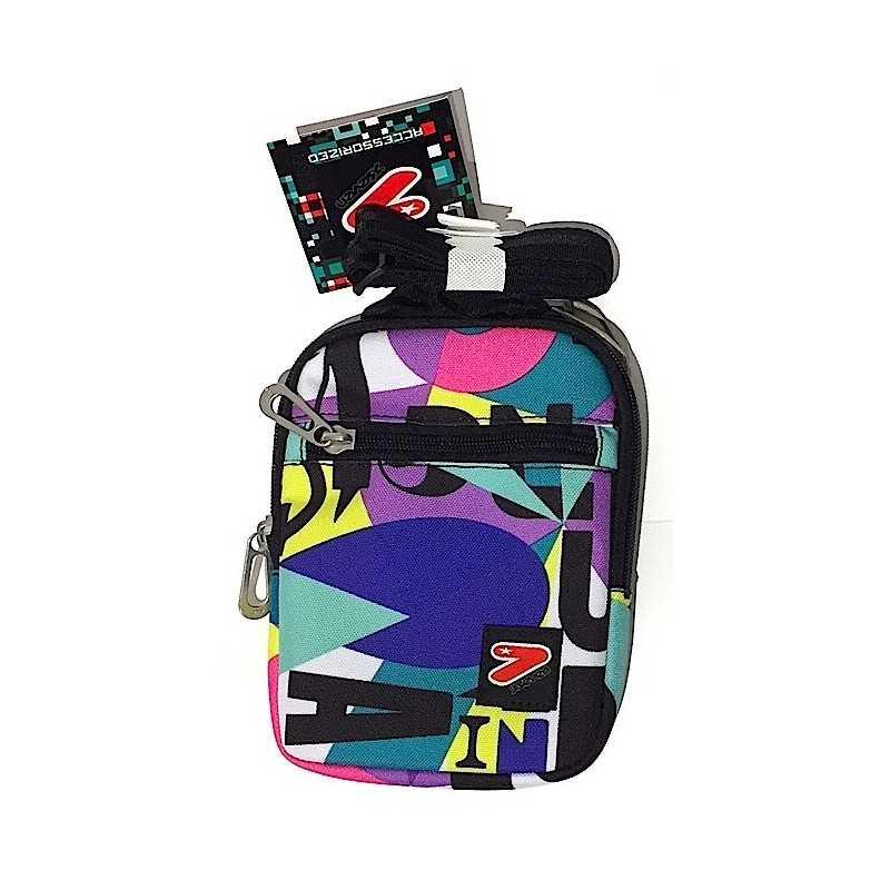 GIRL LETTERE FLAT tracollina SEVEN SHOULDER BAG borsa borsetta Ynwq1EHPU