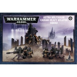 CADIAN HEAVY WEAPON SQUAD ASTRA MILITARUM Warhammer 40k Games Workshop