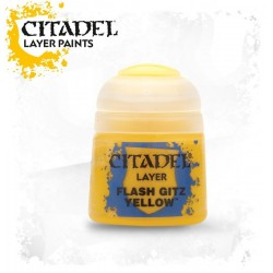 FLAS GITZ YELLOW colore layer Citadel 12 ml giallo Games Workshop