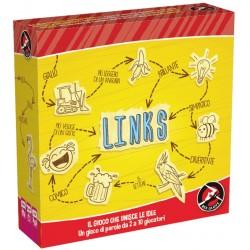 LINKS gioco da tavolo TROVA LA PAROLA party game RED GLOVE carte 5 MODALITA' DI GIOCO età 8+