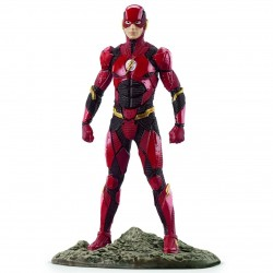 THE FLASH justice league SCHLEICH supereroi dipinti a mano PERSONAGGI 22565 miniature in resina DC età 3+