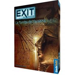 EXIT il gioco LA TOMBA DEL FARAONE terzo capitolo ESCAPE ROOM game IN ITALIANO età 12+