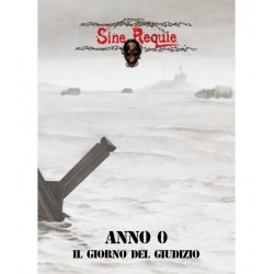 SINE REQUIE ANNO XIII: ANNO 0 zero SERPENTARIUM Asmodee 2017 gioco di ruolo GDR 158 pagine