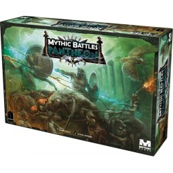 MYTHIC BATTLES PANTHEON Kickstarter God Pledge includes ATLAS and PANDORA box exclusives add-ons